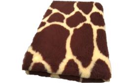 Vet Bed met Giraffe Print  - Anti Slip