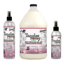 Double K  Tangles away, Ontklitspray met conditioner