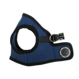 Puppia Soft Vest Harnas Blauw  XS t/m XL - Gratis Verzending