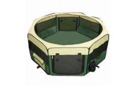 PuppyRen Opvouwbaar  Groen 8 x 50 Br x 60 cm Hoog - Gratis Verzending