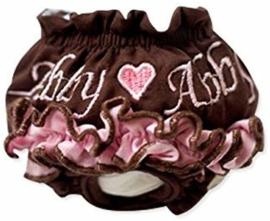 Loopsheidbroekje Abby Bruin - Medium - Taille 22-30 cm - In Voorraad