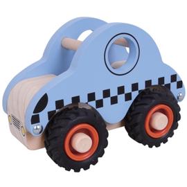 Taxi met Rubberen Wielen