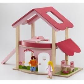 Poppenhuis Roze Wonderworld 4549