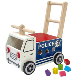 Loopwagen Duwwagen Politie I'm Toy 87701