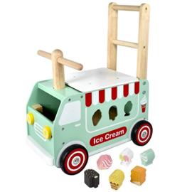 Loop / Duwwagen IJsco Truck I'm Toy 88190