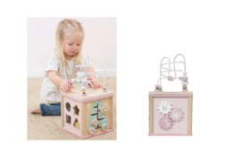 Little Dutch Activiteitenkubus Roze 4427