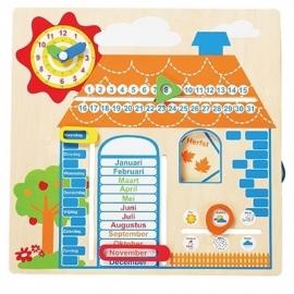 Kalender met Jaargetijden Huis
