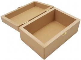 Kist Rechthoek MDF  5493