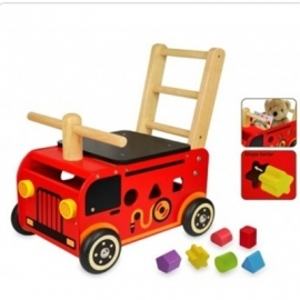 Brandweerauto Loopwagen I'm Toy 87480