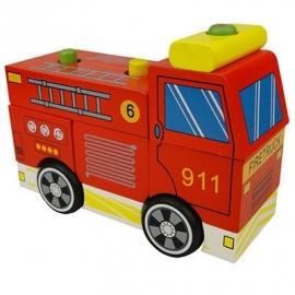 Brandweerauto Demontabel.