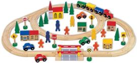 Treinset 63-Delig Mentari 6102