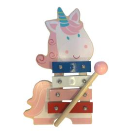 Xylofoon Hout Unicorn 23204