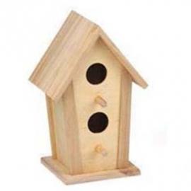 Vogelhuisje Vierkant Smal (7787)
