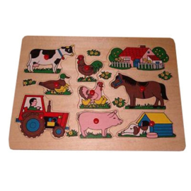 Puzzel Tractor