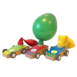 Auto met Ballon 37246