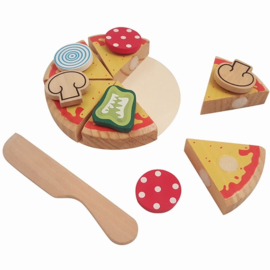 Pizza Puntjes met Mes
