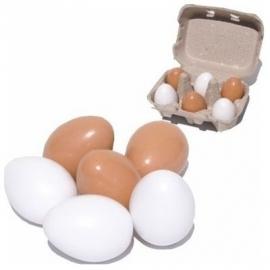 6 Eieren in Doosje