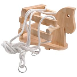 Houten Schommel paard Beuken