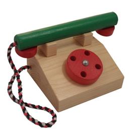 Houten Telefoon