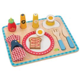 Ontbijtset op Dienblad 14-Delig