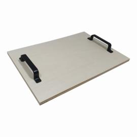 Dienblad met Metalen Handgreep (0342A)