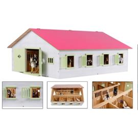 Paardenstal met 7 Boxen 610189