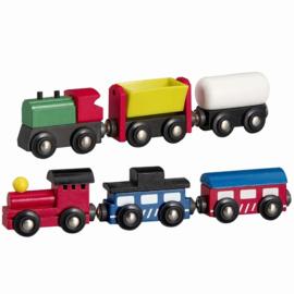 Trein 6-Delig met 2 Locomotieven