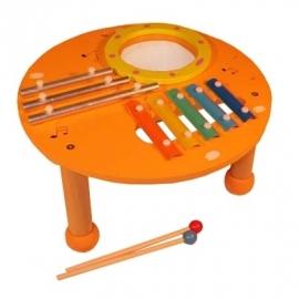 Muziek Tafel Oranje