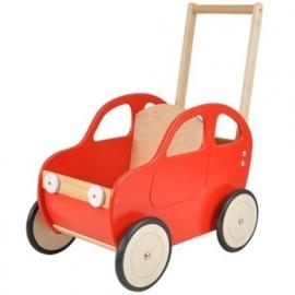 Duwwagen Auto Rood