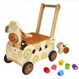 Loopwagen Schaap I'm Toy 87400