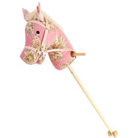 Stokpaard Roze Bloemen met Geluid