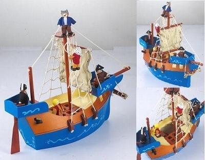 Piratenboot inclusief 5 Piraten