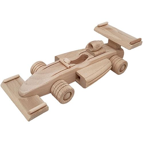 Houten Formule 1 Auto