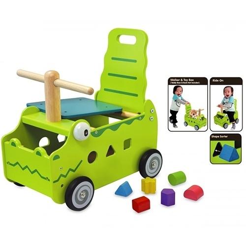 Loopwagen Krokodil I'm Toy 87630