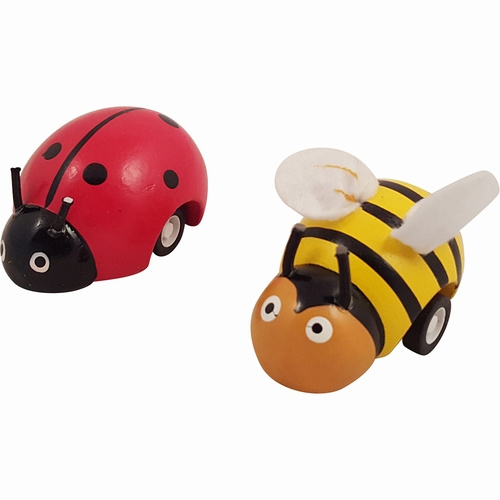 Pull Back Lieveheersbeest of Bij