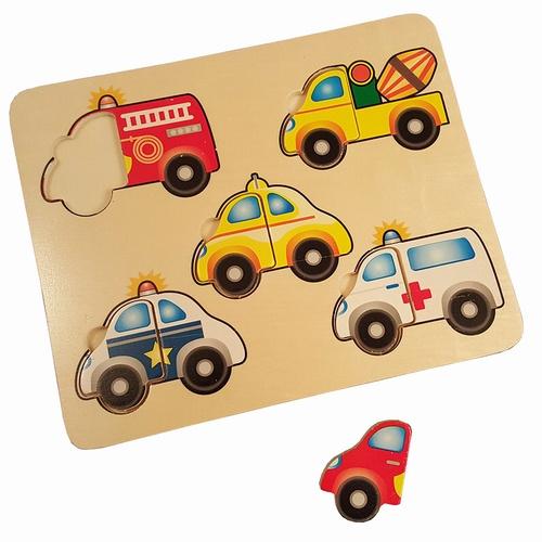 Legpuzzel Auto en Hulpdiensten