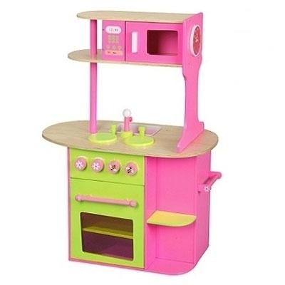 Keuken Roze - Groen