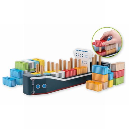 Vormenstoof Containerschip 34-Delig 80067