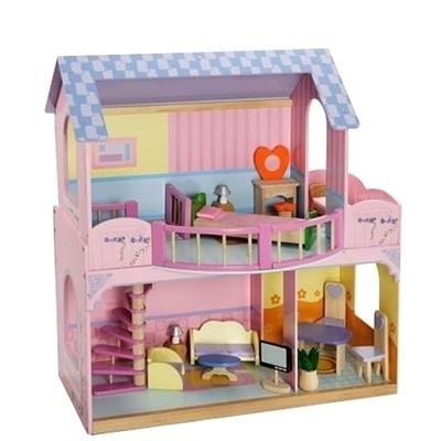 Barbie Poppenhuis Inclusief Meubeltjes Mentari 3364