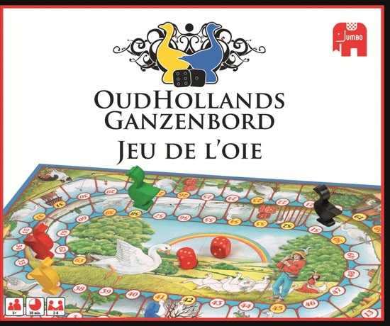 Jumbo Oud Hollands Ganzenbord 17968