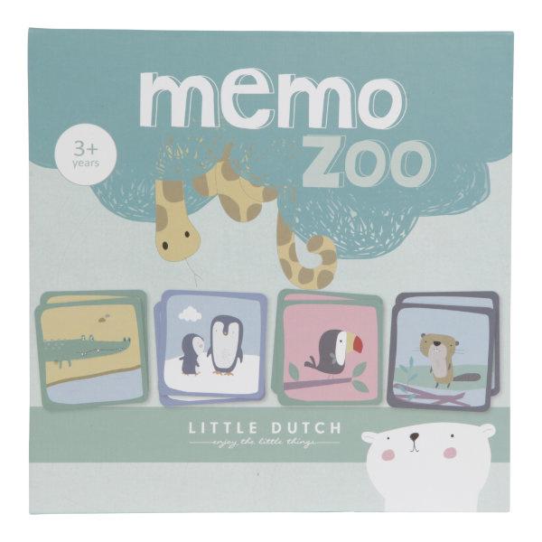Little Dutch Memo Zoo Dierentuin