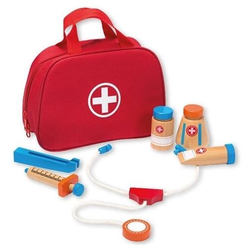 Dokters koffer / Tas met Accessoires 8 delig 80037