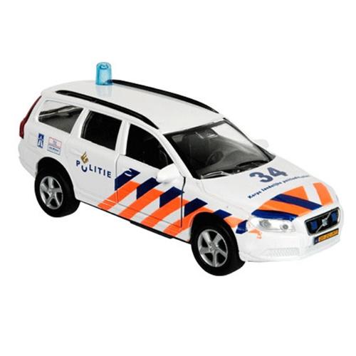 Die-Cast Politie Volvo Pull Back 51.0628