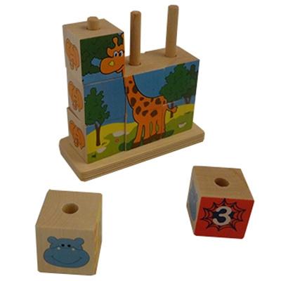 Bouwpuzzel Giraffe