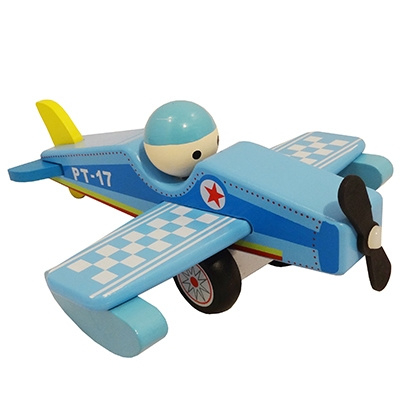 Vliegtuig met Vaste Pop