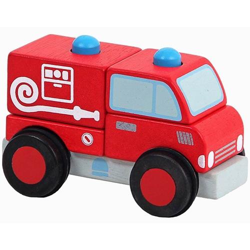 Brandweer Blokkenauto