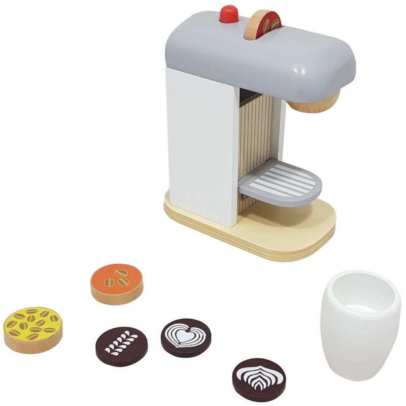 Houten Espresso Koffiezetapparaat
