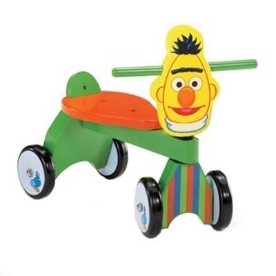 Houten Loopfiets Vierwieler Bert
