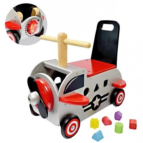 Loopwagen Vliegtuig I'm Toy 87650