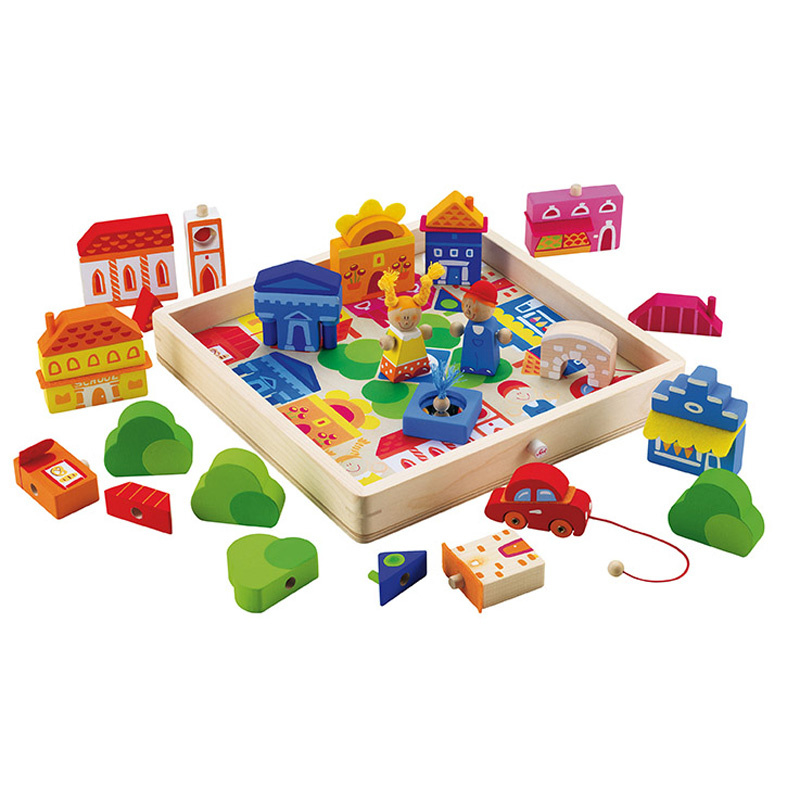 Sevi Play Puzzle City
